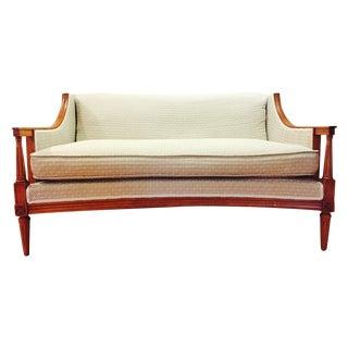 Swoop Arm Henredon Sofa