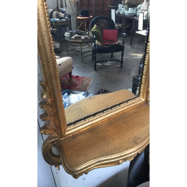 Image of Italian Rococo Gilt Tall Mirror by La Barge