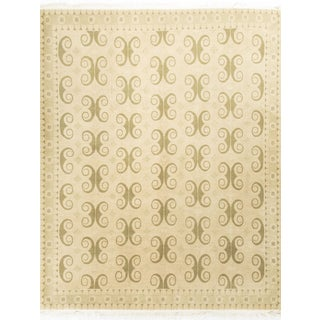 Modern Contemporary Wool Rug - 8′ × 10′