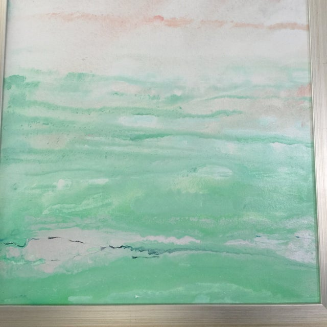 """Morning Sea"" Original Painting Acrylic on Canvas - Image 6 of 6"