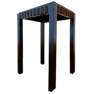 Sculptural Side Table from Indonesia
