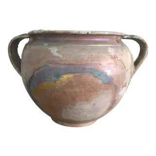 Italian Hand Painted Pottery Vase