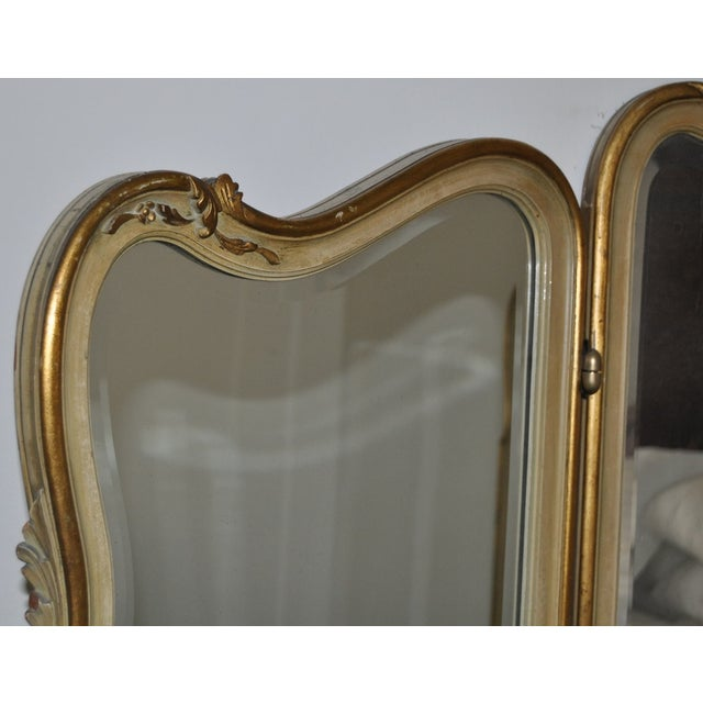 Vintage 1920s French Louis XV Style Vanity - Image 9 of 11