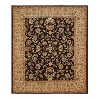 Kafkaz Peshawar Renee Brown & Tan Wool Rug - 8′11″ × 11′9″