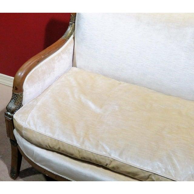 Image of Regency Style Upholstered Sofa