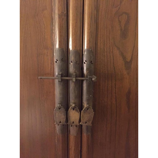 Chinese Ming-Style Armoire Cabinet - Image 4 of 6