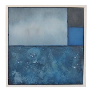 The Wonder of Blue, 2017 Original Oil, Pastel by C. Damien Fox