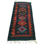 Image of Vintage Handmade Reversible Navajo Arrows Rug