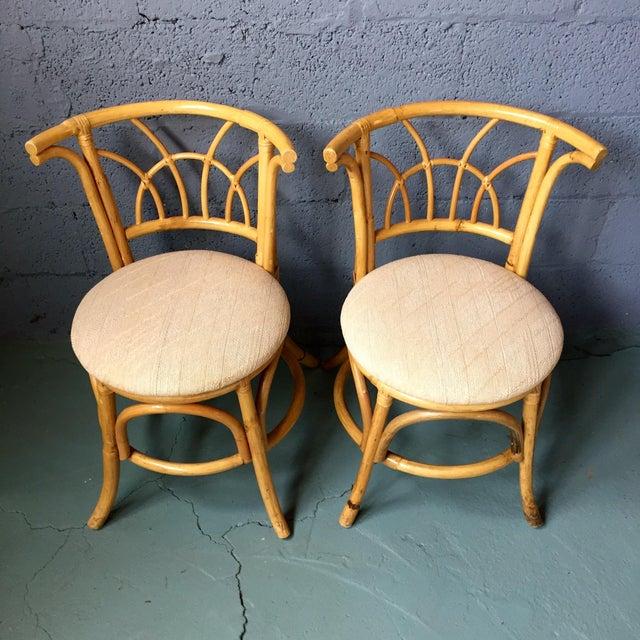 Vintage 1980s Bamboo Dining Set Chairish