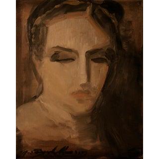 "Modern ""Elizabeth"" Portrait Painting"