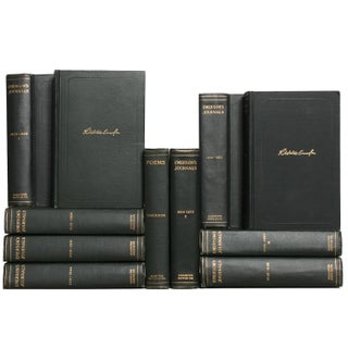 Emerson's Journals & Poems - Set of 11