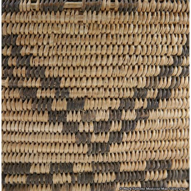 Apache Basketry Olla, circa 1890 - Image 5 of 7