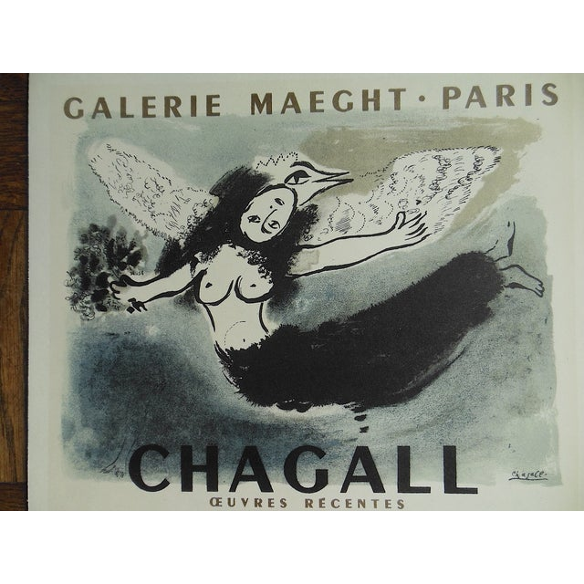 1959 Chagall Mid 20th C Modern Lithograph - Image 3 of 3