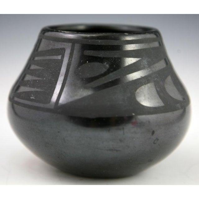 Maria Martinez & Popovi Da Black on Black Jar, 1950 - Image 3 of 8