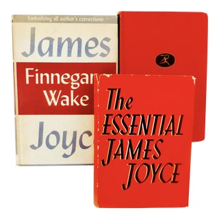 Vintage James Joyce Books - Set of 3