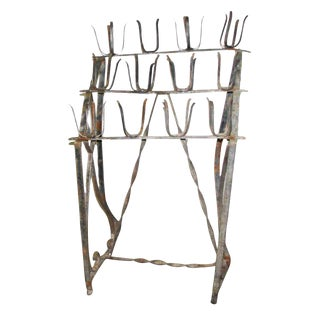 Votive Wrought Iron Candle Stand