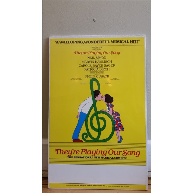 1970s Museum Mount Neil Simon Musical Poster - Image 2 of 5