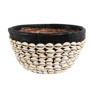 Cowry Shell Basket