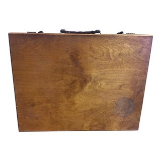 Antique Wooden Art Case