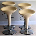 "Image of Magis Chrome Adjustable ""Bombo"" Stools - Set of 4"