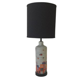Raymor Ceramic Hand Painted Table Lamp