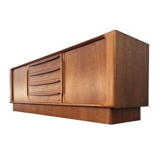 Danish Teak Dresser by Bernhard Pedersen & Son.