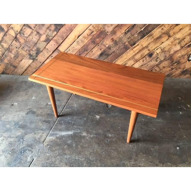 Hand Made Mid-Century Style Coffee Table - Image 2 of 6