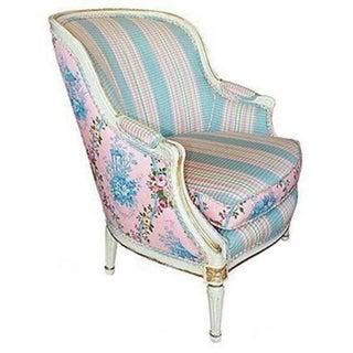 Painted Beregere Louis XVI Style Chair