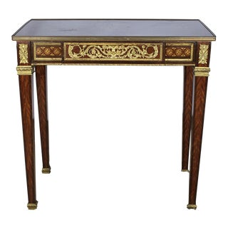 Louis XVI French Marquetry Table