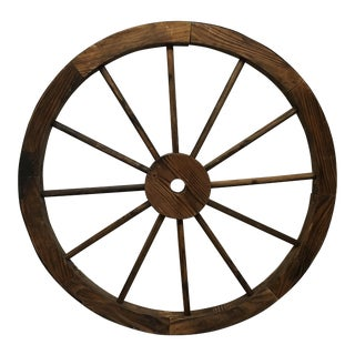 Rustic Wood Wagon Wheel