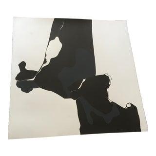 Black & White Abstract Print