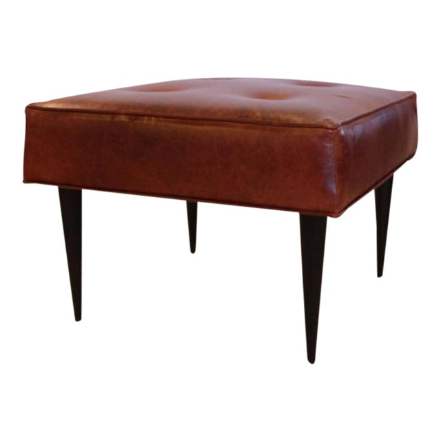 Leather Benches in the Manner of Paul McCobb - Image 1 of 5
