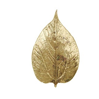 Virgina Metalcrafters Brass Mulberry Leaf