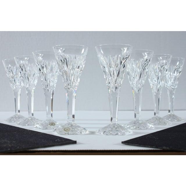 Image of Val St Lambert Belgium Cordial Glasses - Set of 4