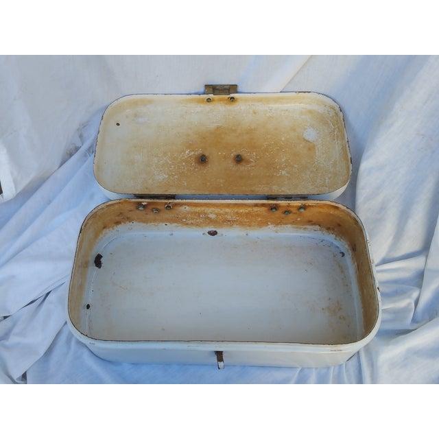 Arts & Crafts Silhouette Bread Box - Image 5 of 6