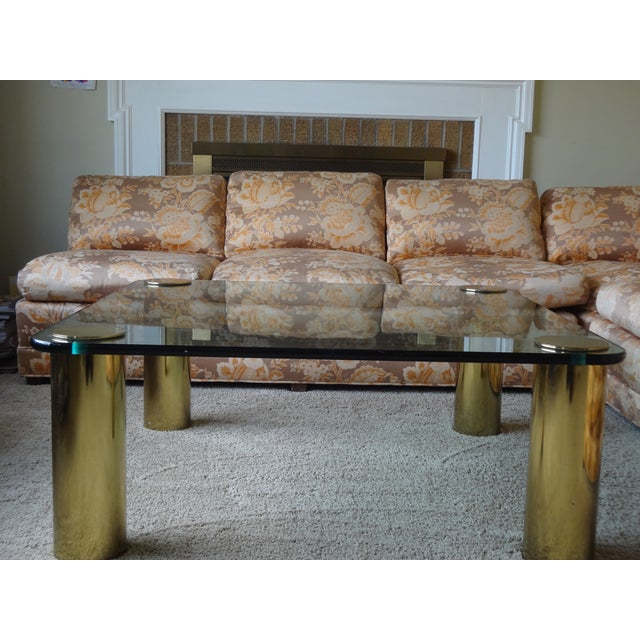 Baker Furniture Armless Sectional Sofa - 3 Pieces - Image 4 of 10