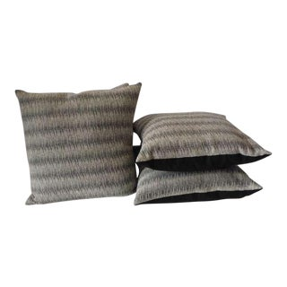 Pair of Soft Wool Indian Weaving Pillows