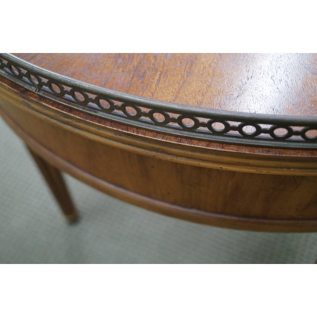 Henredon French Louis XVI Walnut Tables - A Pair - Image 10 of 10