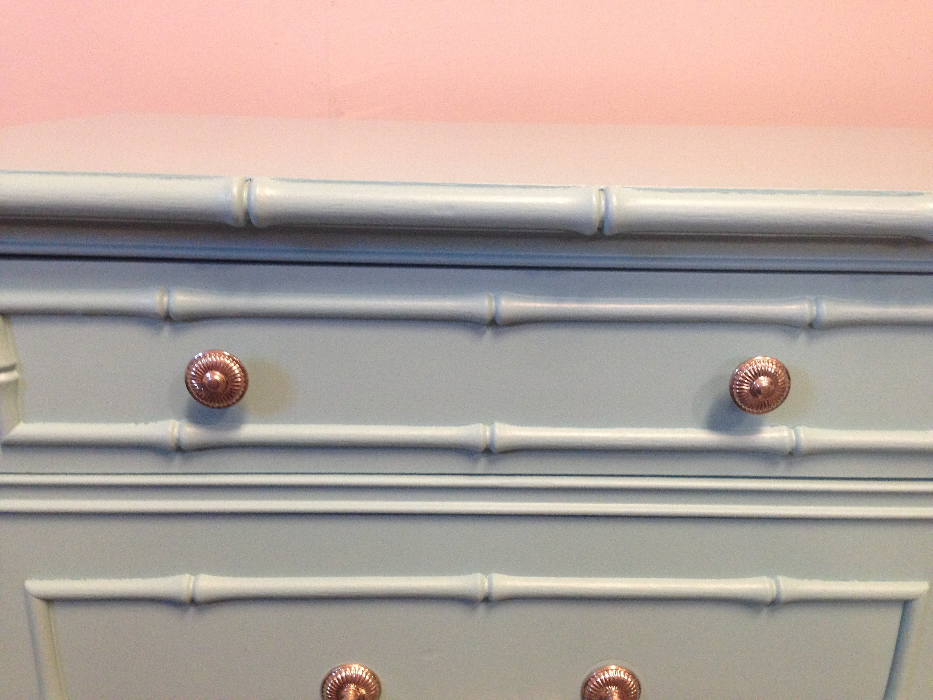 Thomasville Faux Bamboo Dresser   Image 5 Of 8