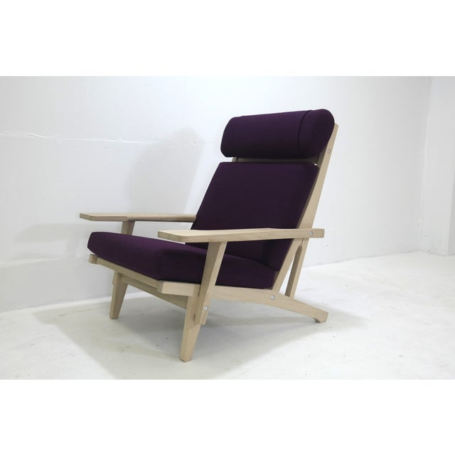 Hans Wegner Mid-Century Modern Chair GE-375 - Image 8 of 11