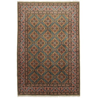 "Asian Style Persian Area Rug - 6'6"" x 9'10"""