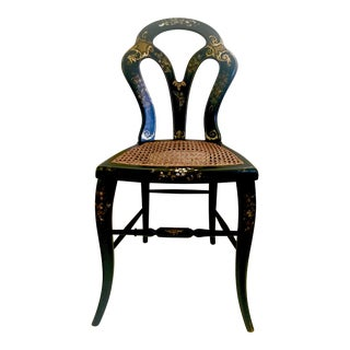 Victorian Papier Mache Side Chair