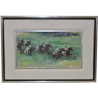 """At the Races"" by Denes De Holesch"