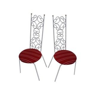 Arthur Umanoff Granola Bistro Accent Chairs - Pair