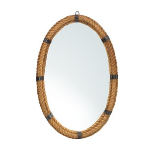 Nautical Oval Rope Mirror