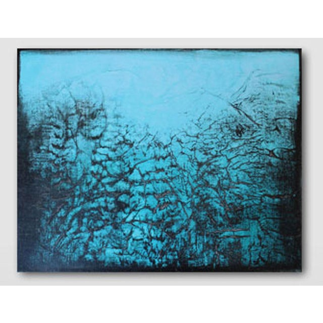 Cool Fever Original Textured Abstract Painting - Image 2 of 3