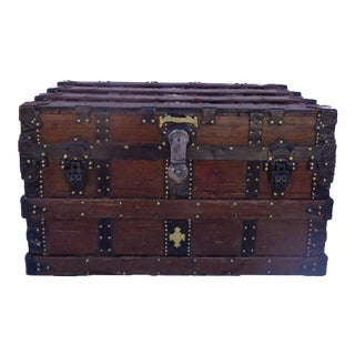 Antique 1890's Taylor Box Trunk