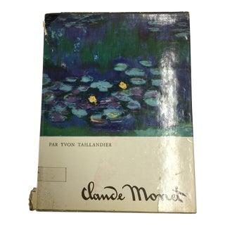Claude Monet by Yvon Taillandier 1967