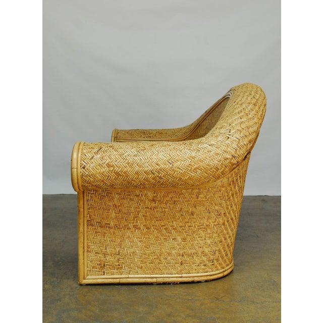 Ralph Lauren 1980 Bamboo Settee - Image 5 of 6