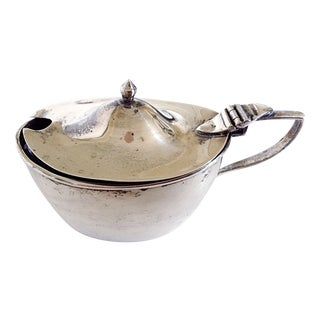 English Sterling Mustard Pot